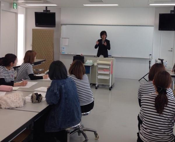 静岡新美容専門学校での特別授業💄