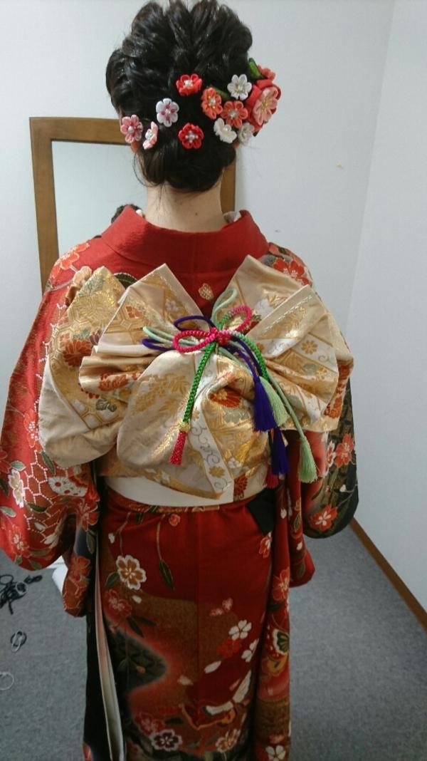 平成最後の成人式🌟着付け💛帯結び編💓